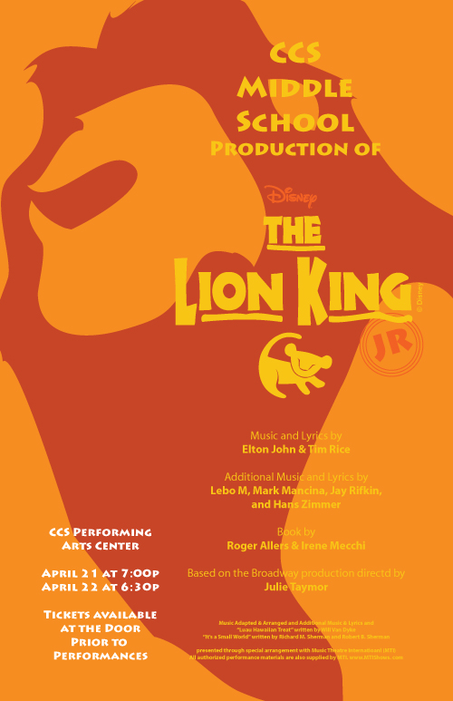 Lion King Poster 4